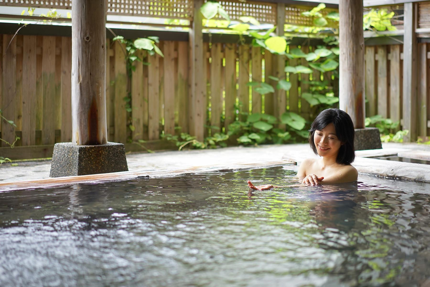 春3 露天風呂