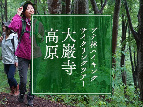〈大巌寺高原〉ブナ林ハイキング・サイクリングツアー