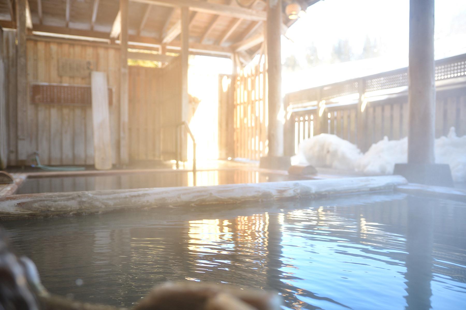 冬-6 露天風呂
